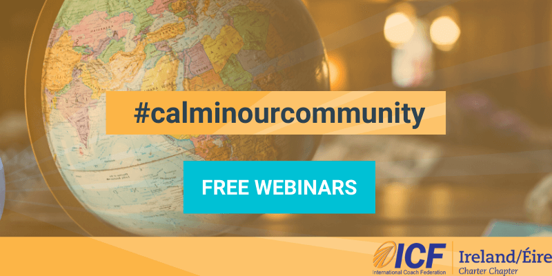 #calminourcommunity hashtag with globe