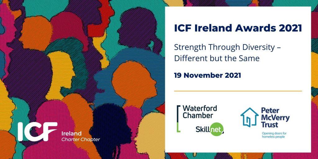 2021 ICF Ireland Awards Banner